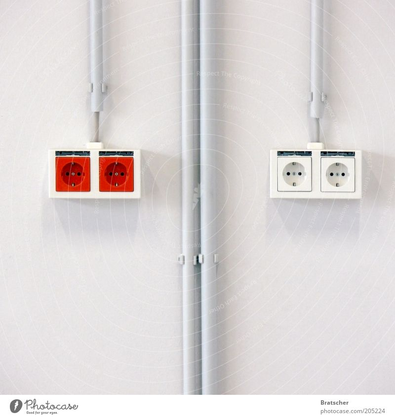 White Red Wall (building) Wall (barrier) Energy Energy industry Electricity Network In pairs Cable Construction site Interior design Financial Industry