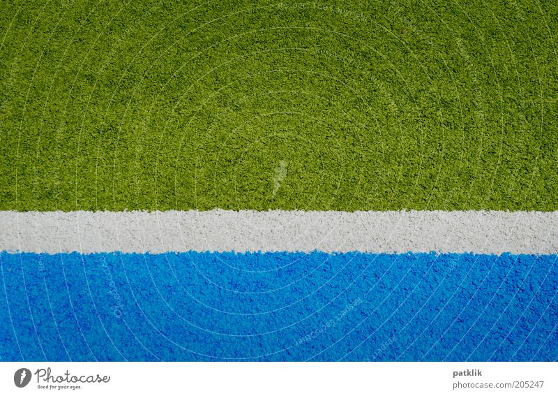 White Green Blue 3 Esthetic Stripe Border Playing field Sports Structures and shapes Copy Space Artificial Ground Partition Artificial lawn Tartan