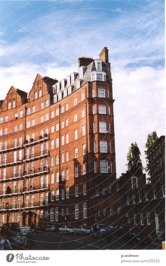 City Red House (Residential Structure) Architecture Brick London England