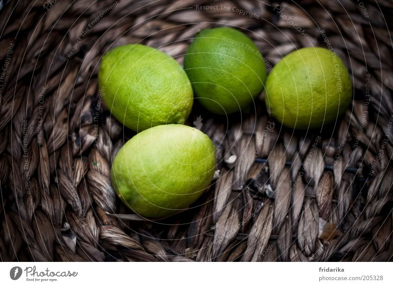 Green Brown Fruit Fresh Delicious Fragrance Exotic Basket Juicy Sour Lime Odor Vitamin C