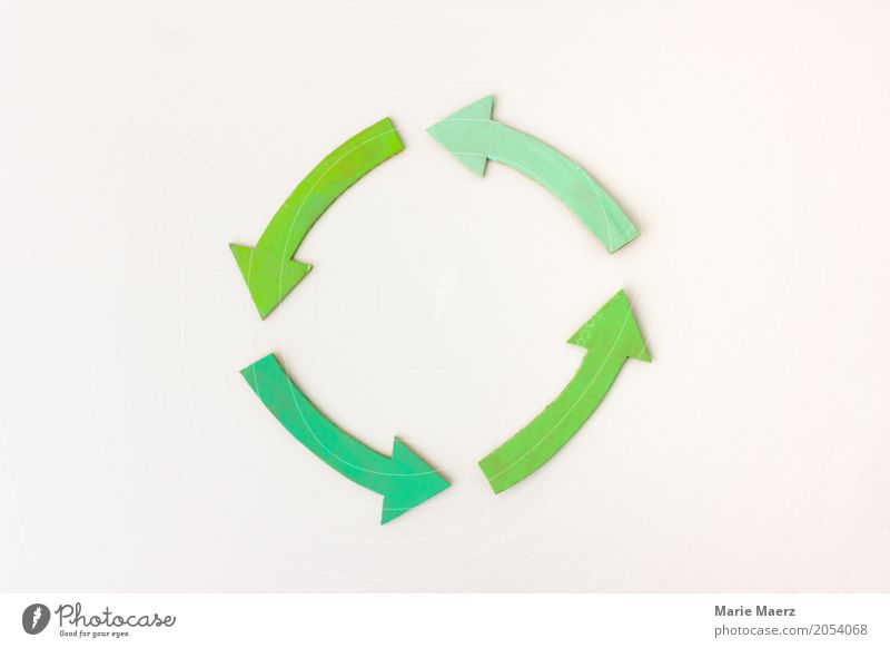 Green Work and employment Contentment Simple Change Planning Arrow Sustainability Teamwork Positive Rotate Repeating Innovative Advancement Recycling Quality