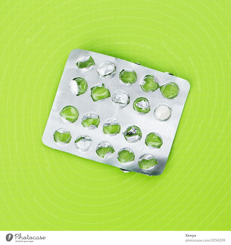 Green Healthy Illness Medication Pain Silver Addiction Pill Dependence