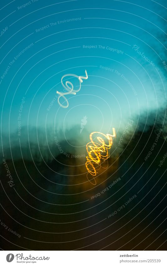 Sky Illuminate Structures and shapes Dusk Visual spectacle Bow Swing Blur Curlicue Tracer path Spirited Light streak Ghost light
