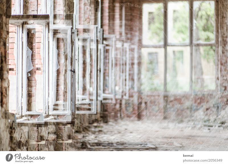 AST10 | Open FFwindows Leisure and hobbies Adventure House (Residential Structure) Interior design Chemnitz Industrial plant Factory Ruin lost places Window Old