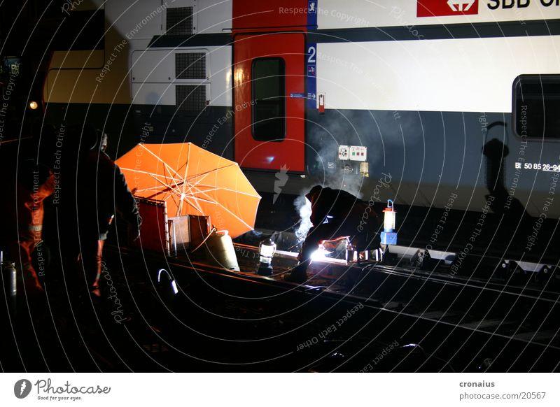 Orange Railroad Electricity Technology Umbrella Railroad tracks Electrical equipment Gas burner