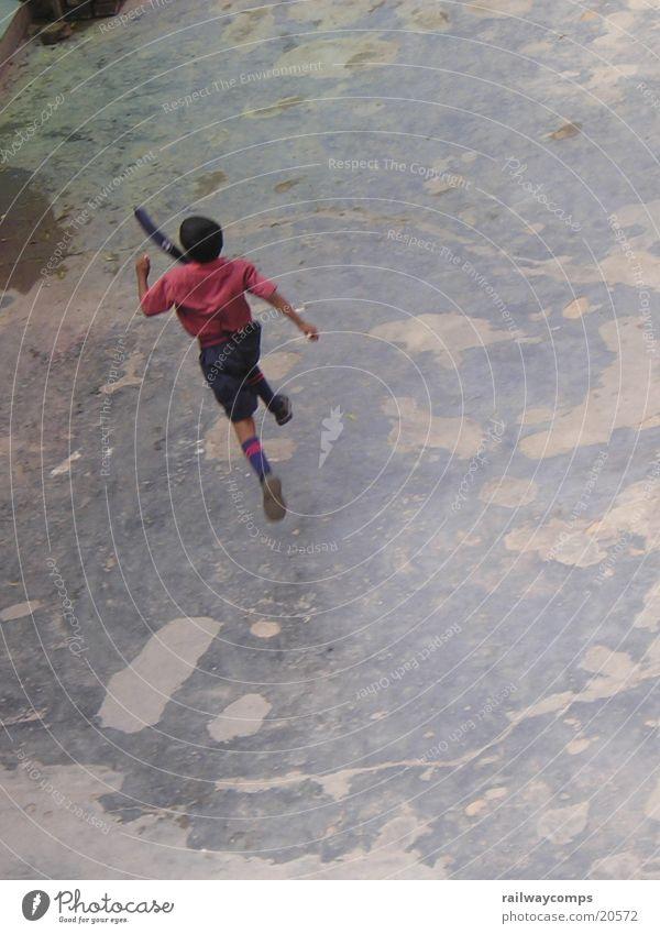 Juhui, the school is over... Break Jump India Delhi Human being School Student School uniform cravatte Running Walking