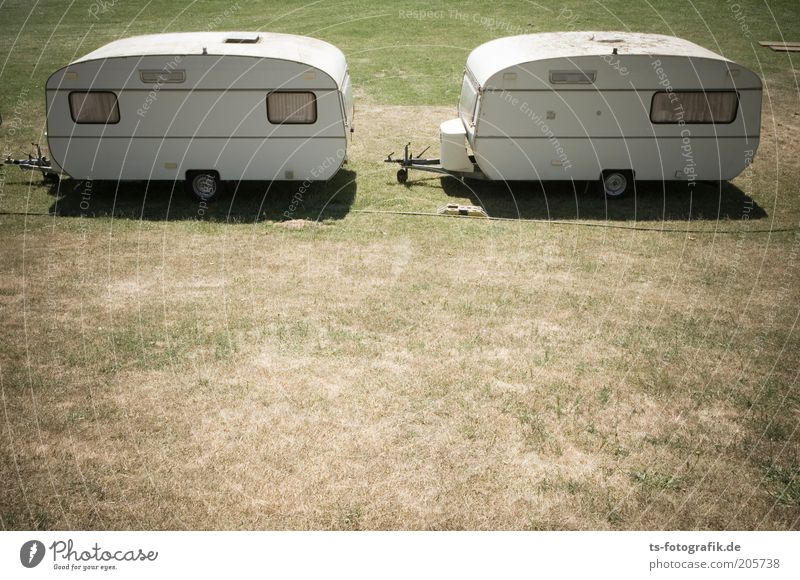 Caravan salt Vacation & Travel Tourism Trip Far-off places Camping Summer Summer vacation Camping site Beautiful weather Warmth Drought Grass Meadow