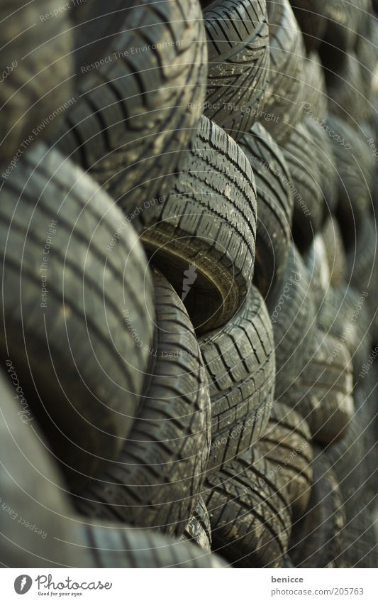 Order must be Tire Rubber Car tire Arrangement System Stack Many Blur Black tidied Tire tread winter tyres summer tyre scrap tyres Recycling Environment