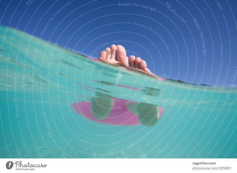 * HHHAAAAACH YAAAAAAAAAAAA ... * Vacation & Travel Lie Float in the water Relaxation Feet Water Ocean Swimming & Bathing Rest Break Calm Idyll Maldives