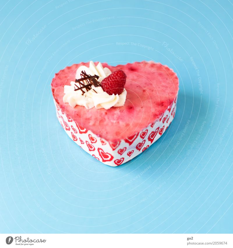 sweet present Food Dough Baked goods Candy Cake Strawberry Strawberry pie Nutrition Eating To have a coffee Feasts & Celebrations Valentine's Day Mother's Day