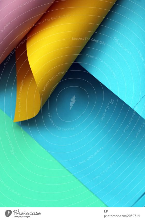 abstract background with coloured paper Lifestyle Interior design Background picture Business Design Work and employment Living or residing Decoration