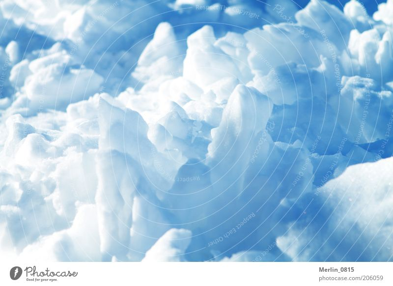 ice age Elements Winter Climate Ice Frost Snow Glacier Colour photo Exterior shot Deserted Day Light Shadow Contrast Sunlight Frozen Cold Structures and shapes