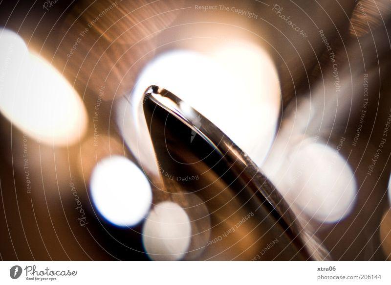 Glittering Elegant Esthetic Corner Still Life Silver Noble Cutlery Macro (Extreme close-up) Point of light