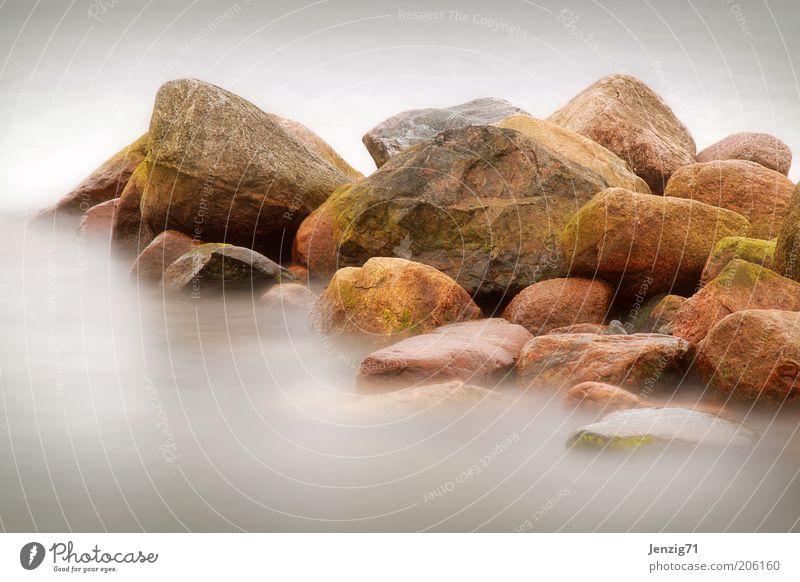 Nature Water Ocean Stone Landscape Coast Environment Moss Elements Stony Long exposure Rocky coastline