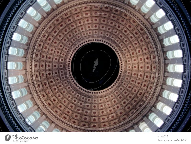 Architecture USA Round Domed roof Washington DC United States Capitol