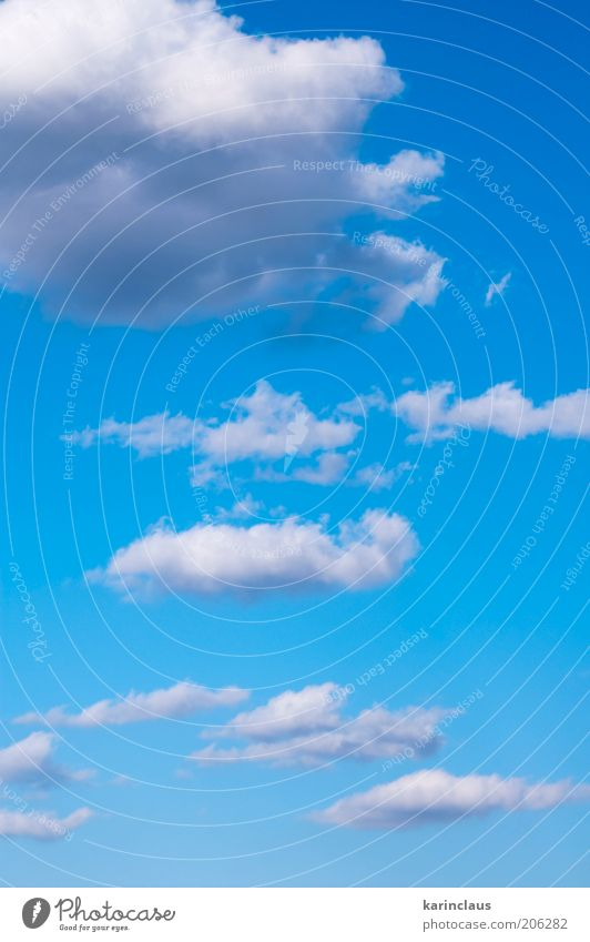 clouds on blue Nature Beautiful Sky White Sun Blue Summer Clouds Colour Heaven Landscape Air Bright Background picture Weather Environment