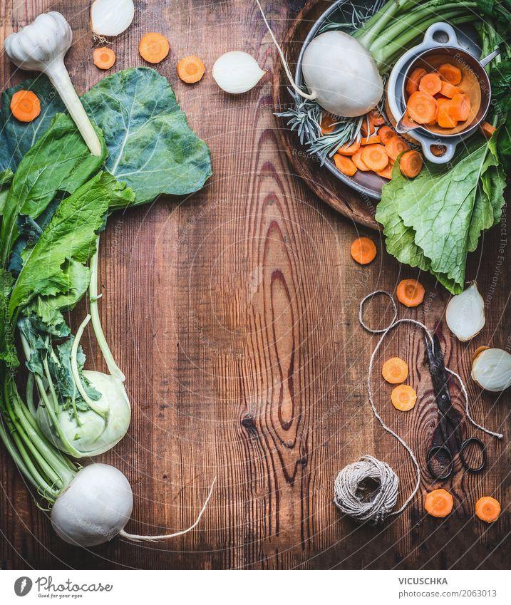Vegetarian food background with fresh organic vegetables Food Vegetable Nutrition Organic produce Vegetarian diet Diet Crockery Style Design Healthy