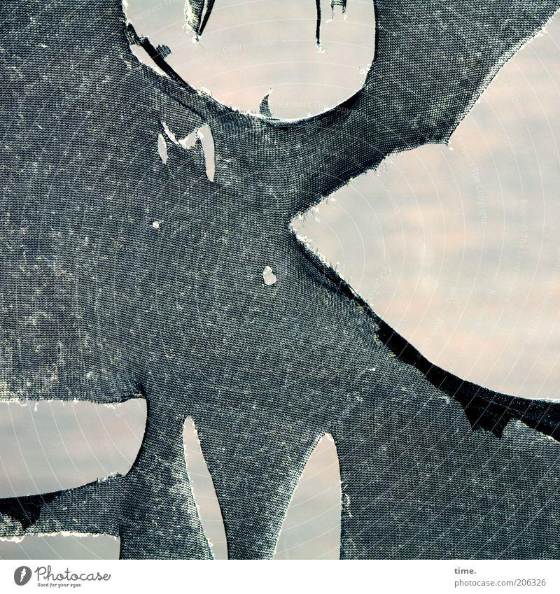 Old Black Broken Transience Cloth Drape Depth of field Material Destruction Rag Textiles Torn Average Foreground Morbid Defective