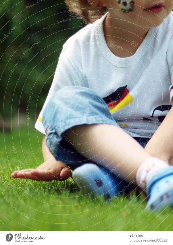 Human being Child Hand Red Girl Joy Black Relaxation Yellow Feminine Life Playing Happy Infancy Soccer Sit