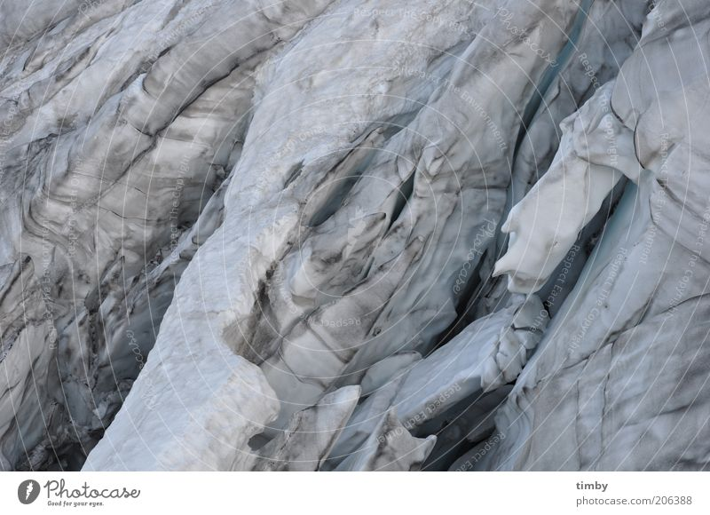 Summer Snow Mountain Landscape Ice Frost Alps Glacier Cervasse Force of nature Glacier ice Titlis