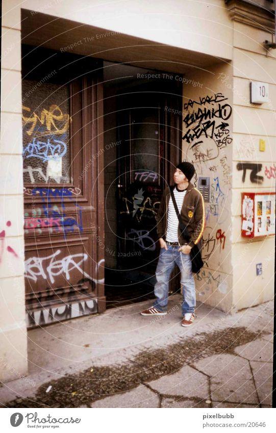 Wall (building) Graffiti Berlin Kreuzberg Photographic technology