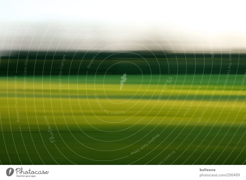 Nature Sky Green Blue Summer Yellow Landscape Air Field Environment Earth Speed Esthetic Abstract Motion blur