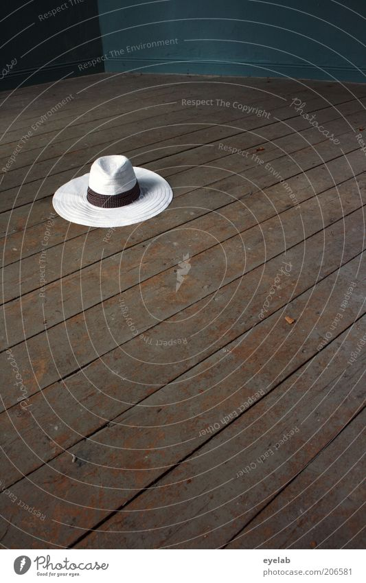 Beautiful Old White Wood Brown Fashion Going Elegant Clothing Retro Round Floor covering Hat Doomed Hip & trendy Forget