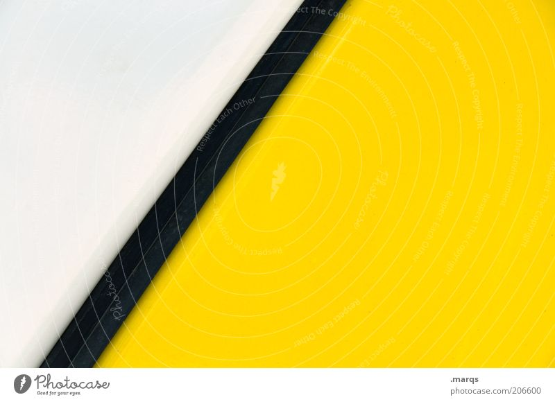 White Black Yellow Colour Style Line Background picture Design Lifestyle Arrangement Esthetic Simple Stripe Illustration Positive Abstract
