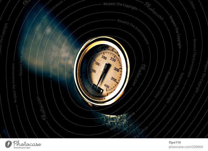 500°C Measuring instrument Thermometer Dark Blue Black Colour photo Exterior shot Close-up Detail Macro (Extreme close-up) Deserted Copy Space left