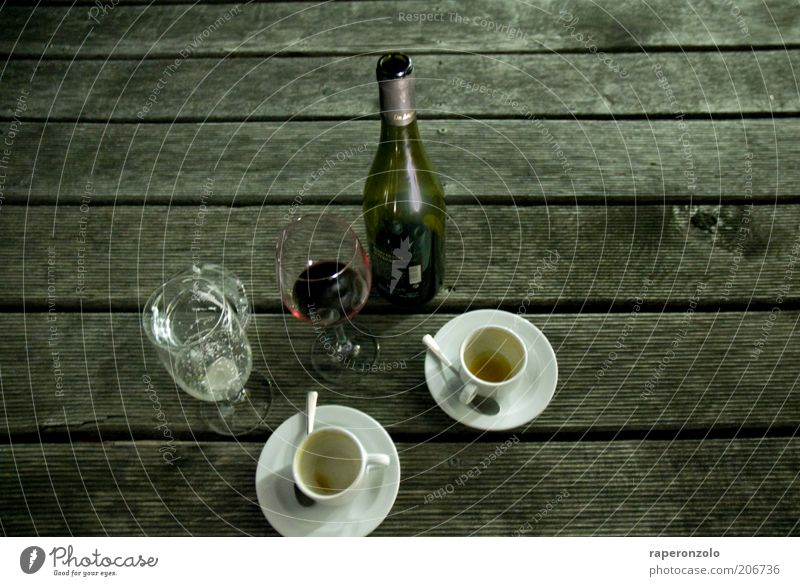 Picnic urban To have a coffee Beverage Alcoholic drinks Wine Cup Glass Lifestyle Night life Going out Feasts & Celebrations Drinking Wood Gray 2 Difference