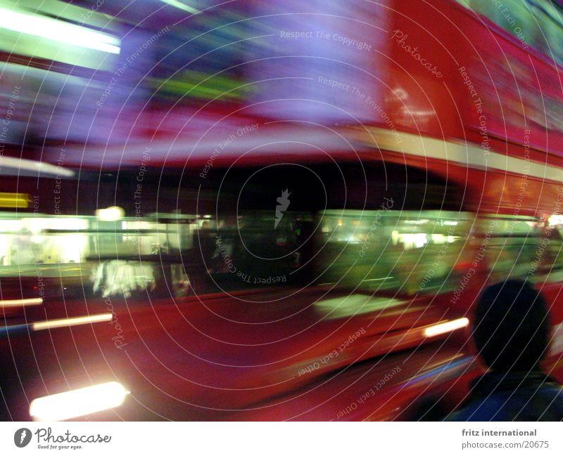 blurred London Blur Town Transport Light Europe Bus Movement Oxford Street