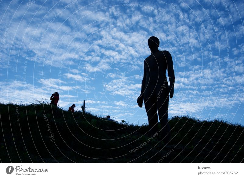 2039 meters Freedom Science & Research Art Sculpture Climate Climate change Future Human being Evolution Motionless Ready Perspective nude scanner Phenomenon