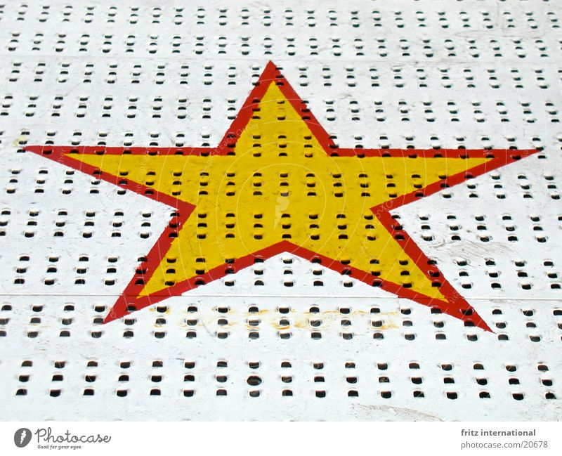 seven donkeys wine Fairs & Carnivals Holy Synod Yellow Red Playing Graffiti Mural painting Obscure Star (Symbol) Münster Symetric symmetry Colour Metal