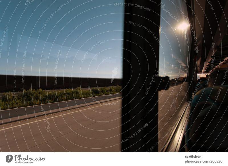 Blue Vacation & Travel Street Lanes & trails Brown Road traffic Transport Speed Driving Highway Traffic infrastructure Bus Motoring Window pane Vehicle Passenger traffic