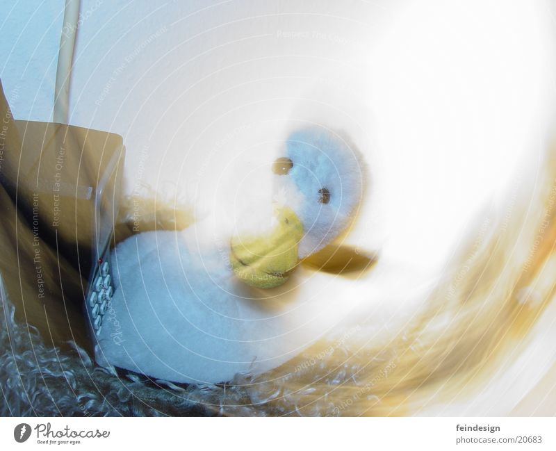 Ghost Duck Speaking Goose Cuddly toy Obscure Moody stylish Blur