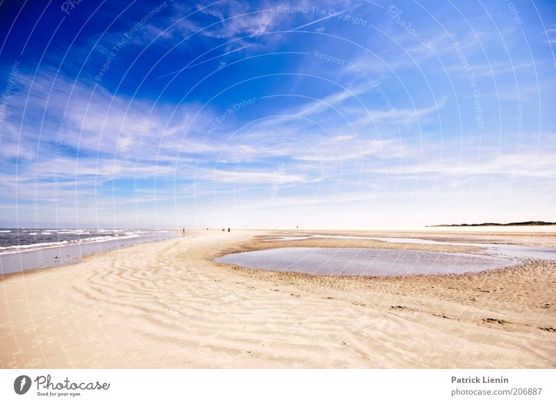 Nature Blue Summer Beach Vacation & Travel Ocean Clouds Far-off places Freedom Environment Sand Dream Trip Island Tourism Elements