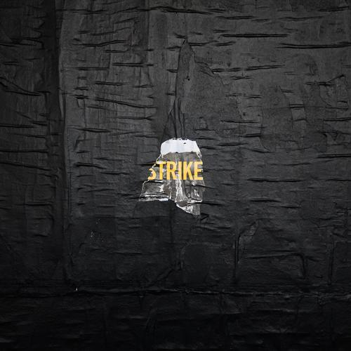 strike... Wall (barrier) Wall (building) Characters Graffiti Town Yellow Black Resolve Problem solving Might Moral Perspective Politics and state Protest