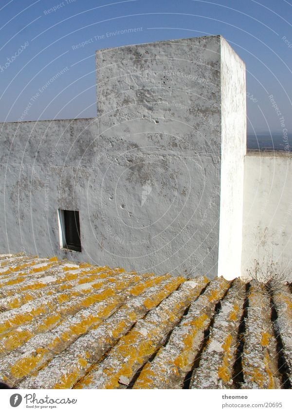Above the roofs I Vacation & Travel Europe Spain Andalucia Costa de la Luz Roof Architecture White Villages Atlantic coast Vejer