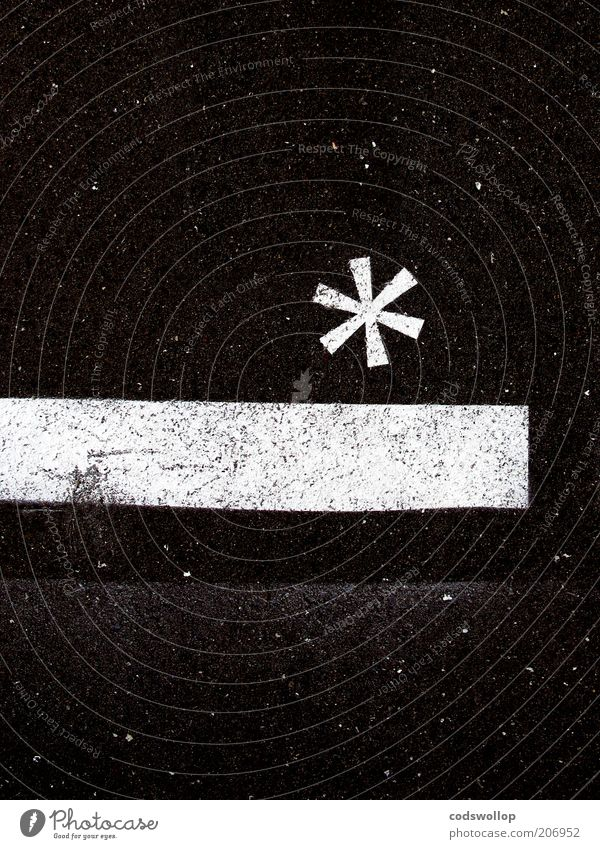 White Black Art Stars Design Star (Symbol) Esthetic Asphalt Physics Uniqueness Science & Research Sign Universe Symbols and metaphors Illustration Typography