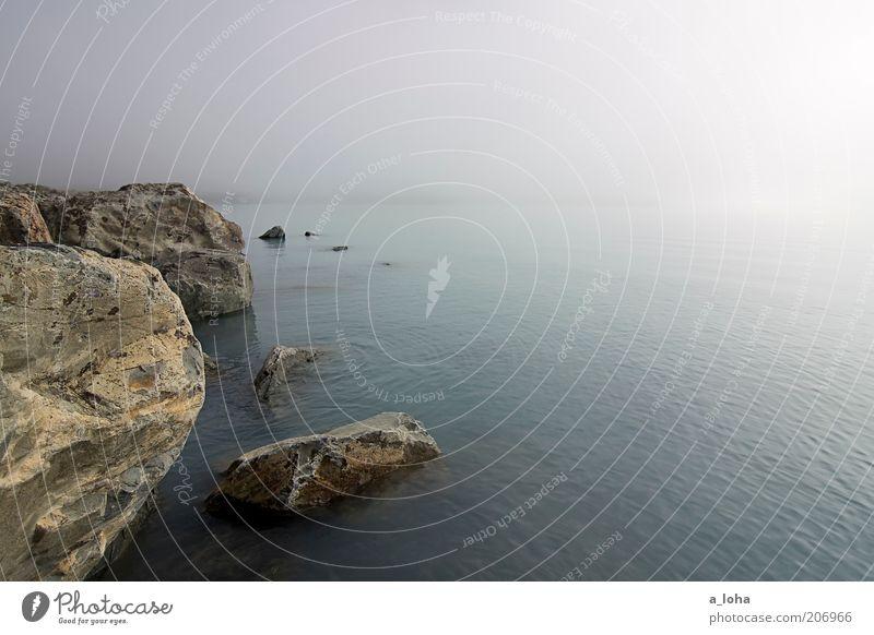 a fairytale Landscape Elements Water Sky Rock Coast Lakeside Stone Glittering Exceptional Far-off places Wet Wanderlust Esthetic Loneliness Uniqueness