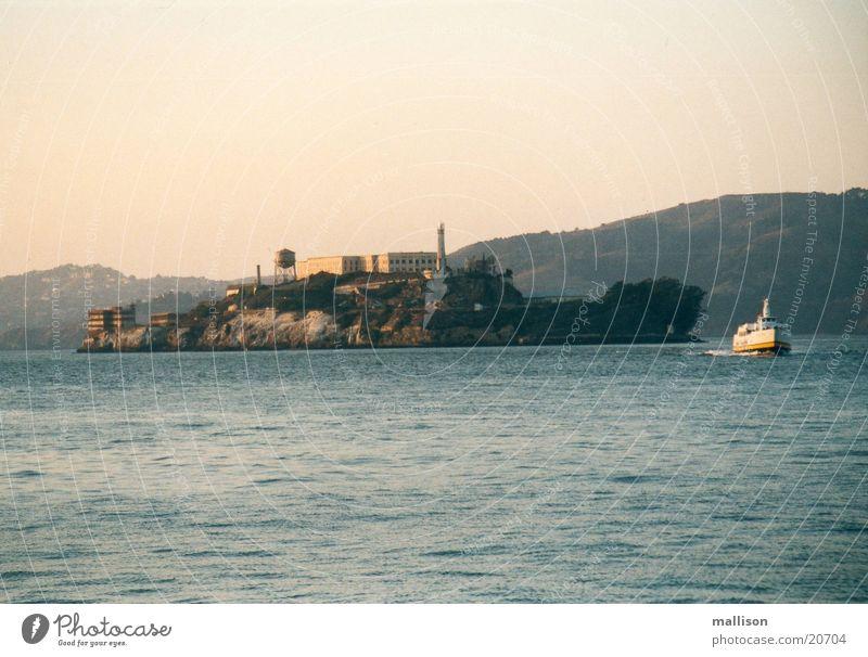 A ship? An island? Alcatraz Watercraft San Fransico Island
