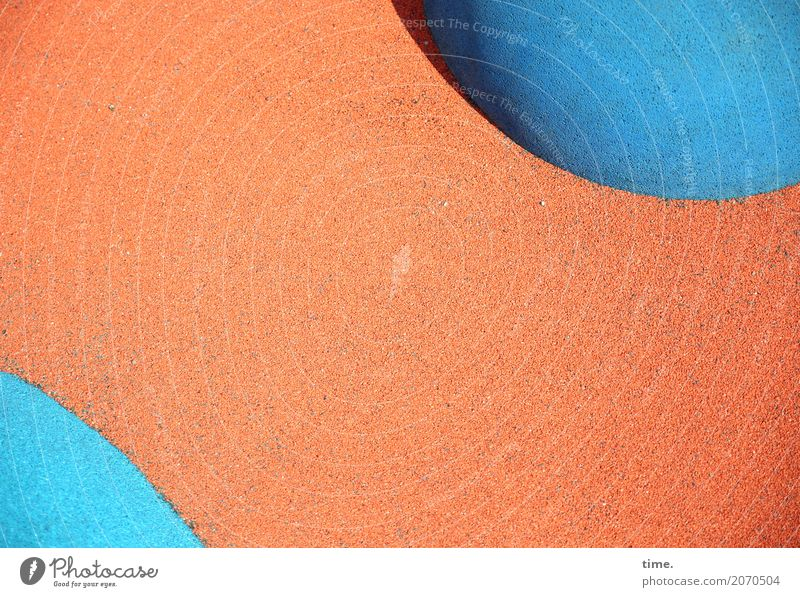 AST 10 | unplugged Art Lanes & trails Floor covering Plastic Line Sphere Esthetic Exceptional Fresh Funny Athletic Blue Orange Disciplined Endurance Orderliness