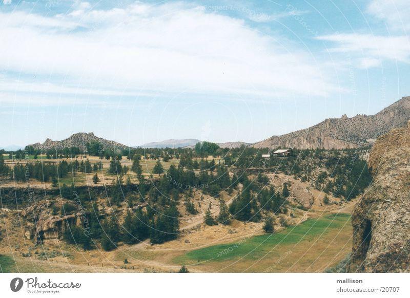 bonanza Idaho Mountain River prairie