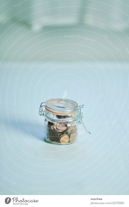 Poverty Money Symbols and metaphors Luxury Retirement Save Few Accumulate Coin Retirement pension Sparse Cent Preserving jar