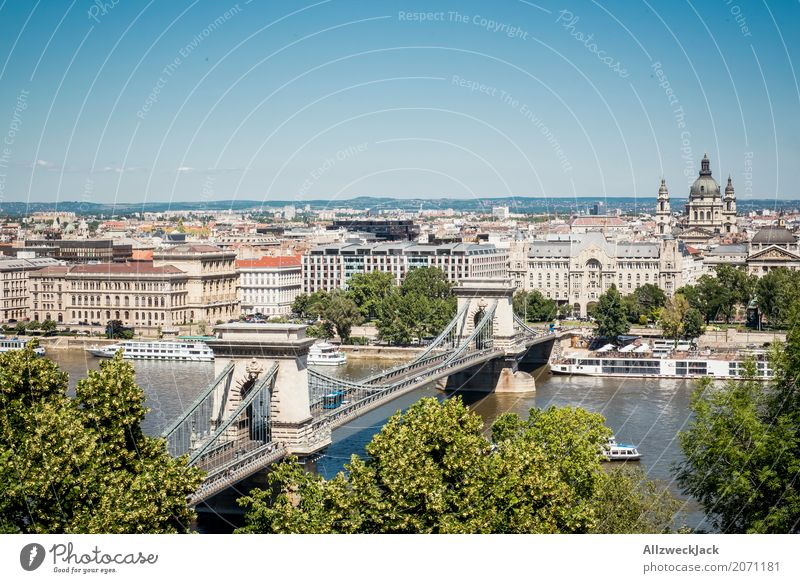 Budapest 3 Colour photo Exterior shot Day Panorama (View) Deserted Vacation & Travel Tourism Trip Sightseeing City trip Summer Hungary Capital city Downtown