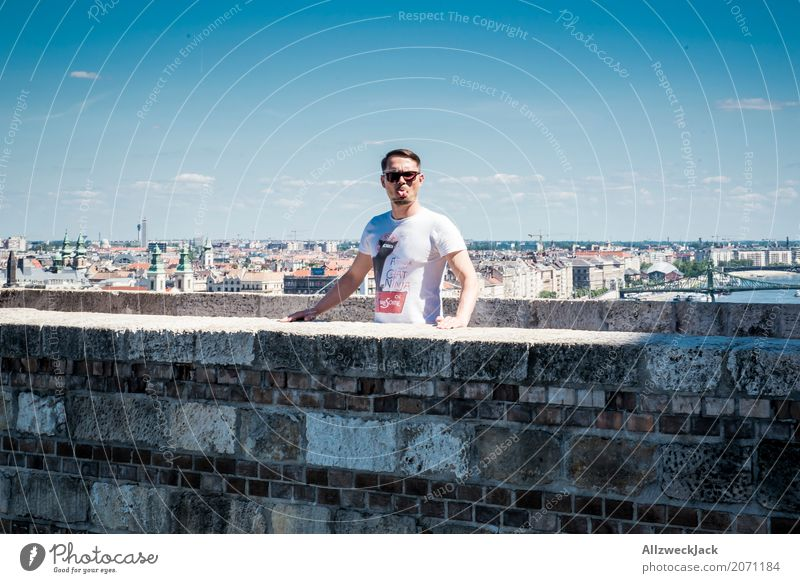yuck! Vacation & Travel Tourism Trip Sightseeing City trip Summer Masculine 1 Human being 18 - 30 years Youth (Young adults) Adults 30 - 45 years Budapest