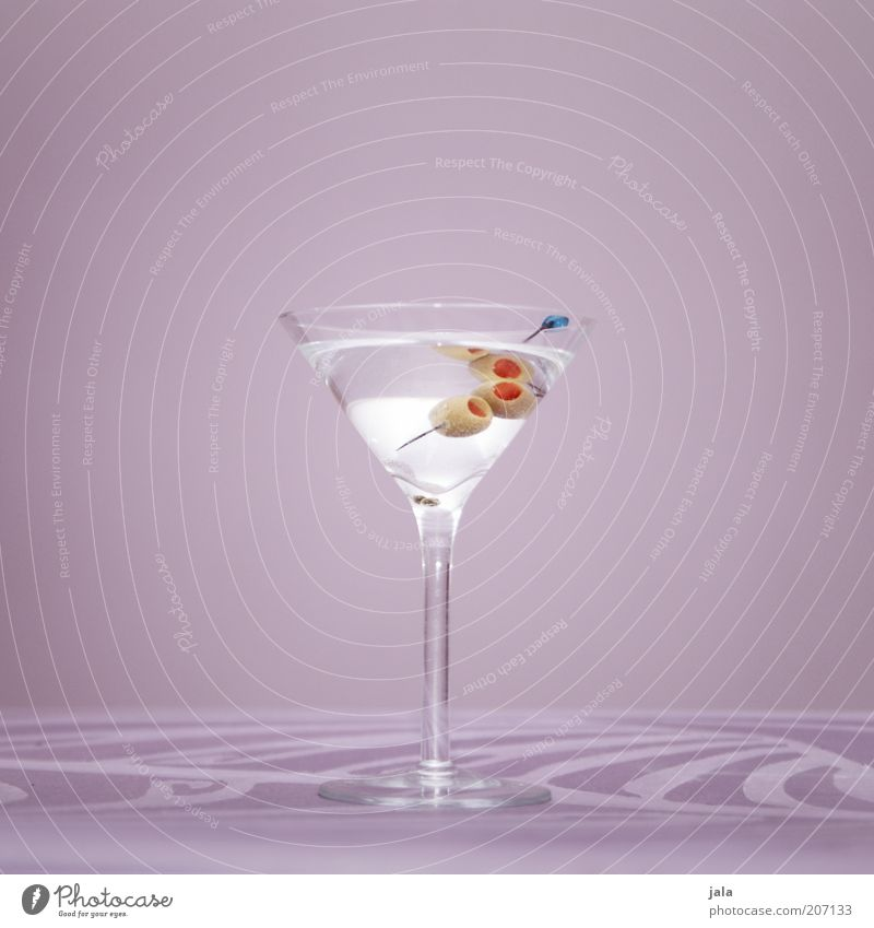 White Style Glass Elegant Esthetic Beverage Lifestyle Simple Violet Fluid Cocktail Alcoholic drinks Classic Olive Sterile Food