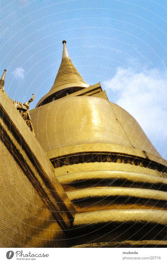 Gold Success Thailand Temple Asia Buddhism Bangkok