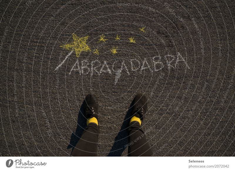 Legs Playing Feet Leisure and hobbies Dream Footwear Stars Desire Magic Wishful thinking Pipe dream Utopia Desirable