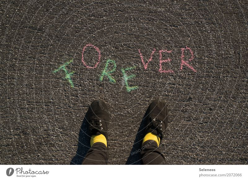 over Feet Footwear Sign Characters Signs and labeling Communicate Emotions Lovesickness Loneliness Jealousy Mistrust Beginning Relationship End Resolve Eternity